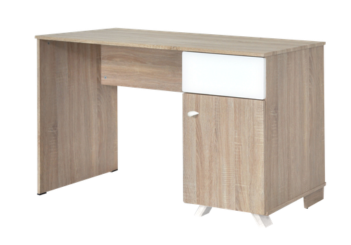 STUDY DESK BERTA SERIES SONOMA OAK LIGHT