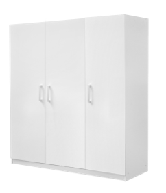 WARDROBE MALM THREE DOORS IKEA WHITE